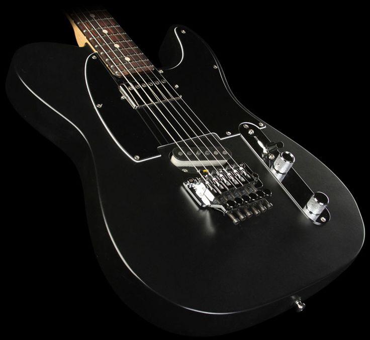Fender Custom Shop Exclusive ZF Telecaster in Matte Black