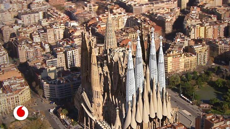 La Sagrada Familia y la tecnología para terminarla  #gaudi #sagradafamilia #barcelona #arquitectura
