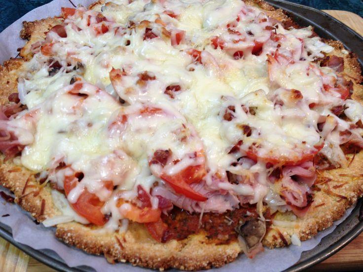 MMMmmm!~ Low Carb Pizza! | Low Carb Recipes | Pinterest