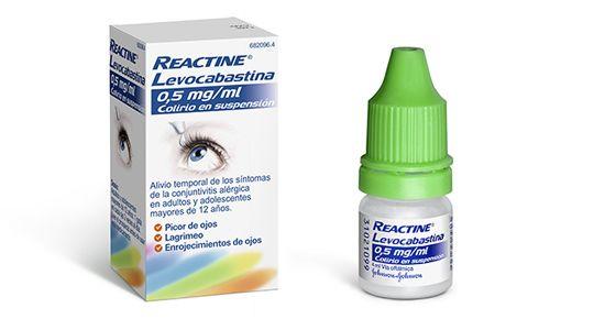 Reactine Colirio para la alergia