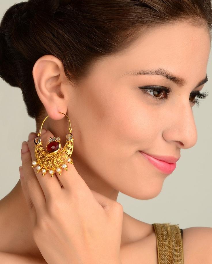 Filigree Bali Earrings  by Nidhaan