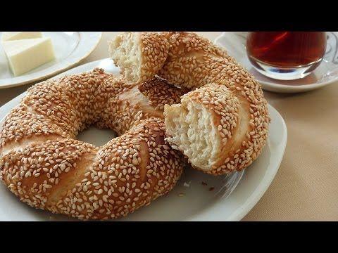 Simit Nasıl Yapılır | Susamlı Simit Tarifi | Pastane Simiti Yapımı - YouTube
