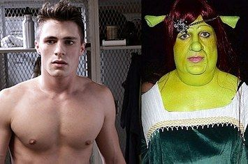 """Colton Haynes Just Won Halloween By Dressing As Princess Fiona From """"Shrek"""""""