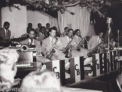 EMMET BERRY SHADOW WILSON COUNT BASIE BAND VINTAGE ROYAL ROOST DRIGGS JAZZ PHOTO