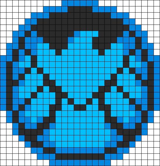 SHIELD Perler Bead Pattern / Bead Sprite