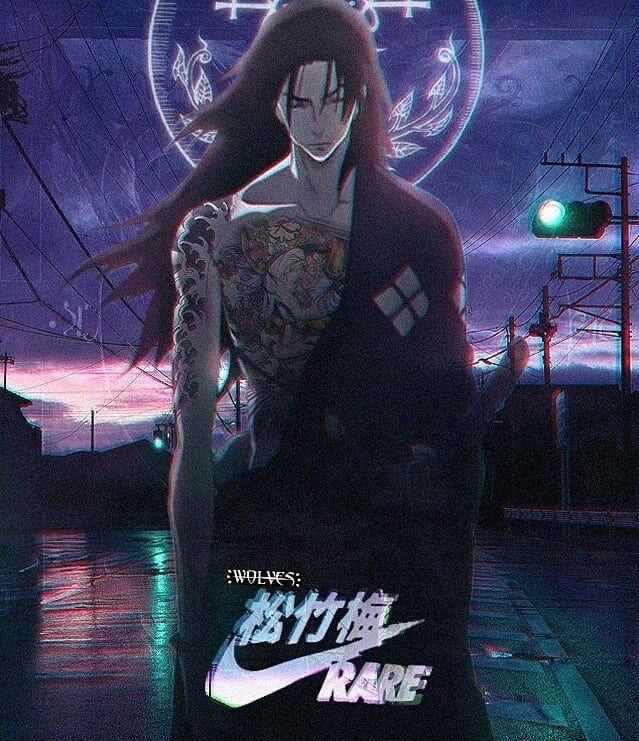 Raresamuraishiet Samuraichamploo Nike Anime Animenike Aesthetics Samurai Champloo Bleach Anime Anime