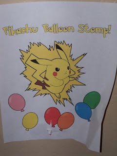 The Creative Party Mom: Pokemon Party (Adam's 9th Birthday). Ping pong balls and sharpies to make poke balls.  Party games