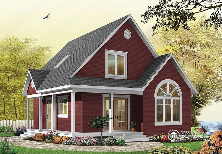 Plan de Maison unifamiliale W3507