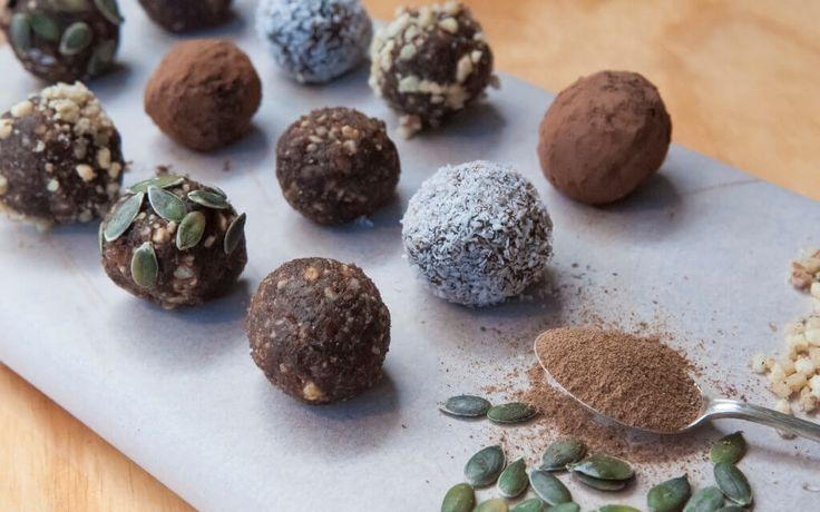 Coffee & Walnut Bliss Balls! Need an afternoon pick-me-up without the guilt? Try our gluten & dairy free snack balls powered by Live Longer Organic 100% Cricket Flour