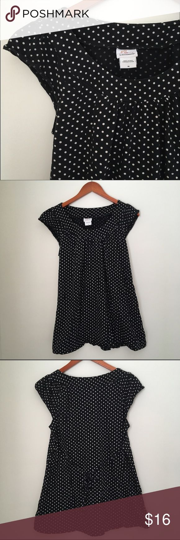 Crib for sale kijiji toronto -  Motherhood Black Polkadot Tee Medium Motherhood Black Polka Dot Empire Waist Maternity Tee Tie