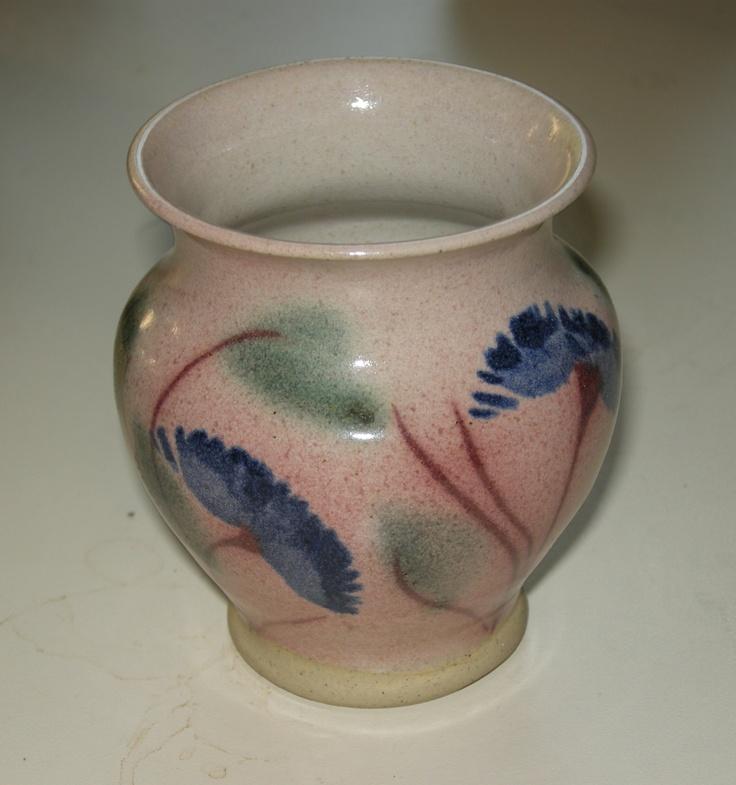 Small Fraddon Pottery vase, Cornwall