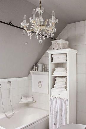 Best 25+ Shabby chic chandelier ideas on Pinterest Shabby chic - shabby chic badezimmer