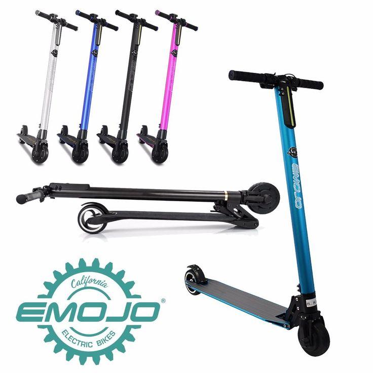 "Urban Cat X Electric Kick Scooter 250W 24V 6.6 Ah 5.5"" Wheels Lithium Blue #Emojo"