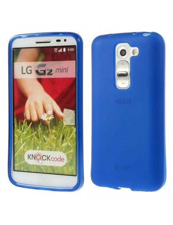 Θήκη Σιλικόνης TPU Ματ για LG G2 Mini D620 D618 - Σκούρο μπλε