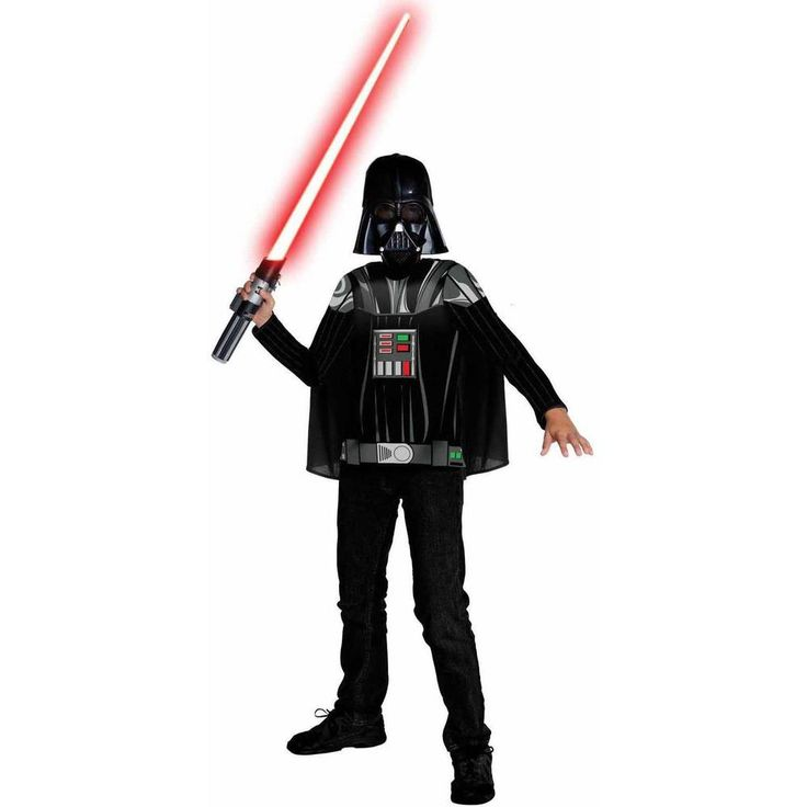 Star Wars Darth Vader Child Halloween Costume Kids Size Small Medium