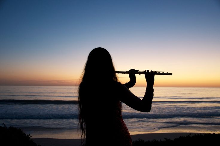 Play the flute...good or bad, it doesn't matter.