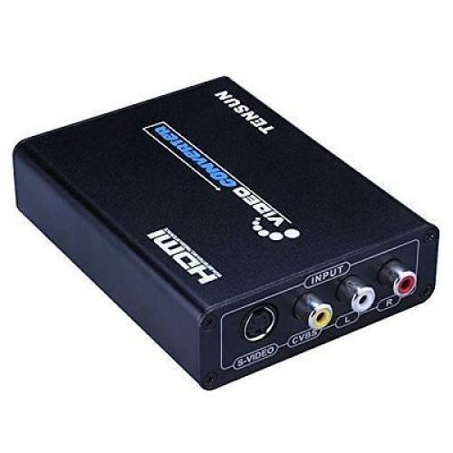 NES, SNES, N64, Genesis, Jaguar, to HDMI Converter Upscale, Retro Gaming on HDTV #Tensun