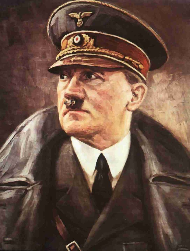 Adolfo Hitler, El artista