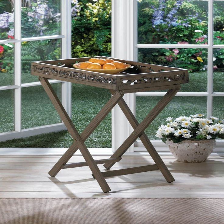 Estate Wooden Tray Table~~Save 30% on anything in my store. New items added daily in all categories! Hope to see you soon. Happy Shopping! http://bit.ly/172XFvF