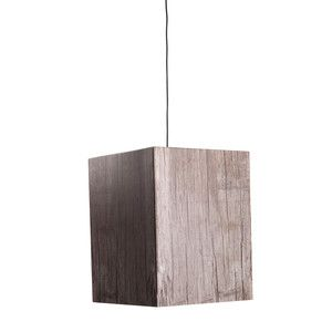 Heavy Pendant Lamp Wood Look Gry, 68€, now featured on Fab.