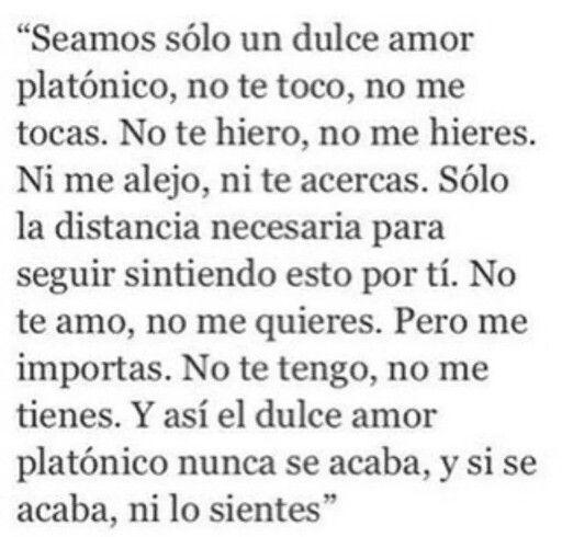 Amor platonico