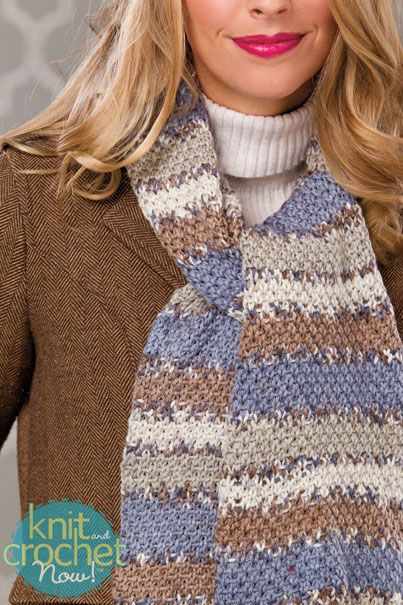 7 best Free Scarf of the Week Knitting Patterns images on ...