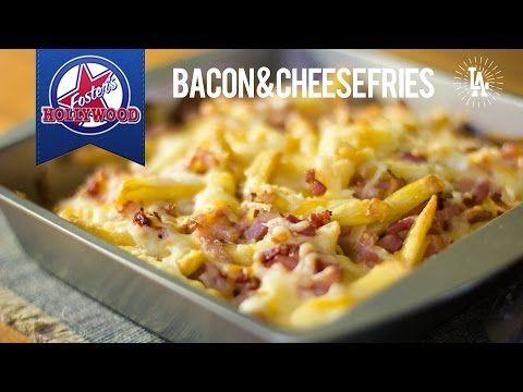 Receta: Patatas Fritas estilo Foster´s Hollywood - Bacon & Cheese Fries - YouTube