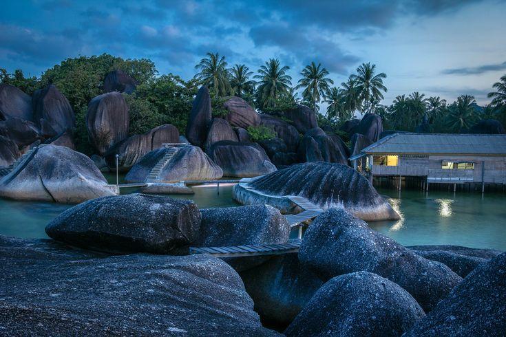 Alif Stone Park Hamparan Ribuan Batu Granit Besar di Riau