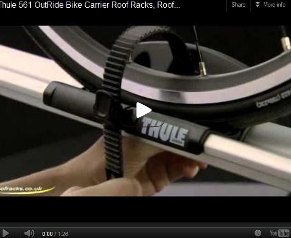 #Thule 561 OutRide #Bike #Carrier #RoofRacks