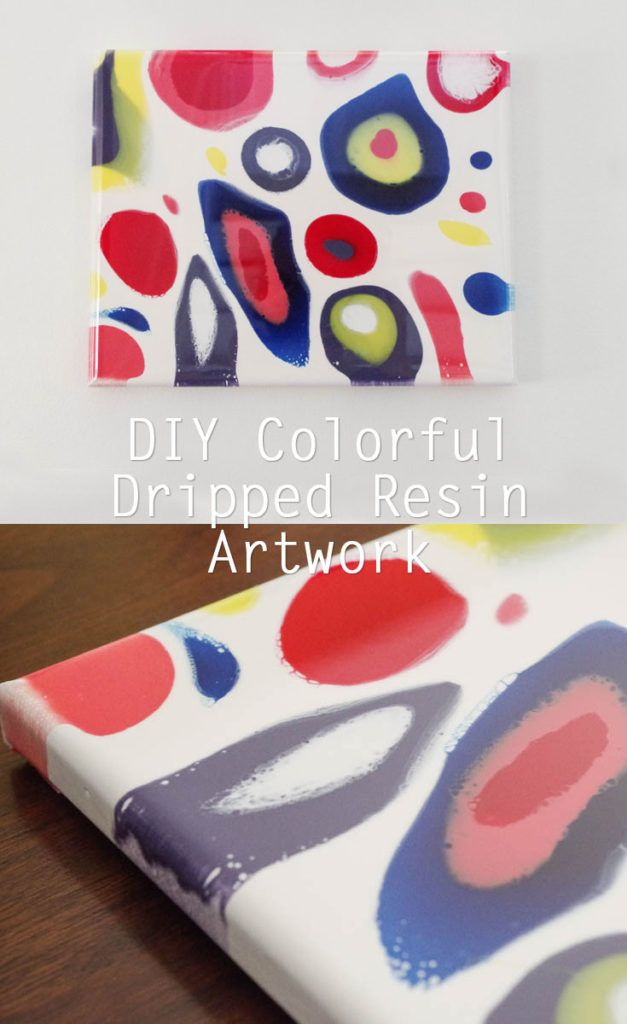 Check Out How I Created This Awesome Modern Art With Resin Projects For S Group Artwork