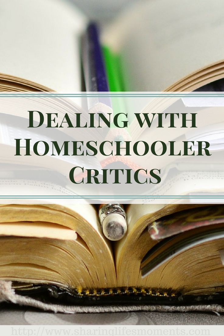 Dealing with Homeschooler Critics is never easy to do, but you can handle them with these tips. via @SLM016