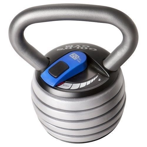 Adjustable KettleBell Weight 5-20 Pounds Crossfit Home Gym Exercise Fitness