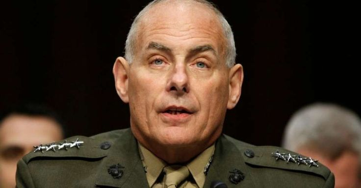 Kelly is a good soldier and will do as he is told by Trump.