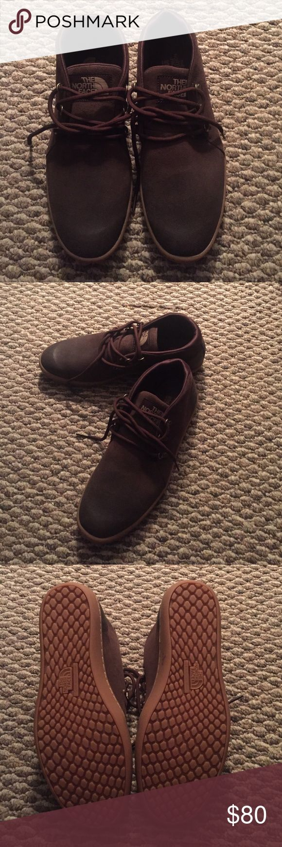 Men's North Face Chukka Boots NIB Men's size 9.5 brown chukka boots. Never been worn. In the original box! The North Face Shoes Chukka Boots