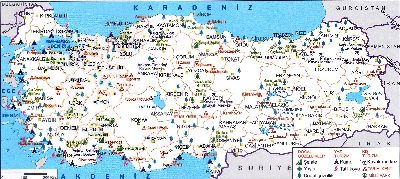 Turkey maps, turkey travel map, tourist map, istanbul map, turkey map