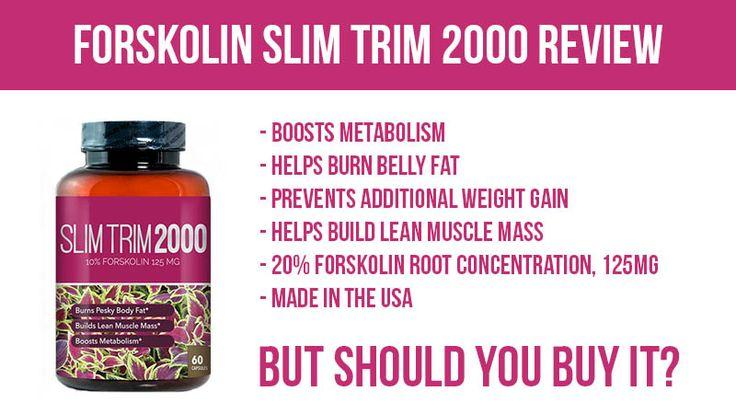 Forskolin Slim Trim 2000 Review: Good Forskolin, But Should You Buy It?