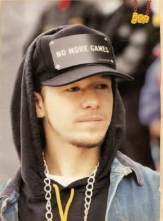 Blast from the past! Donnie Wahlberg