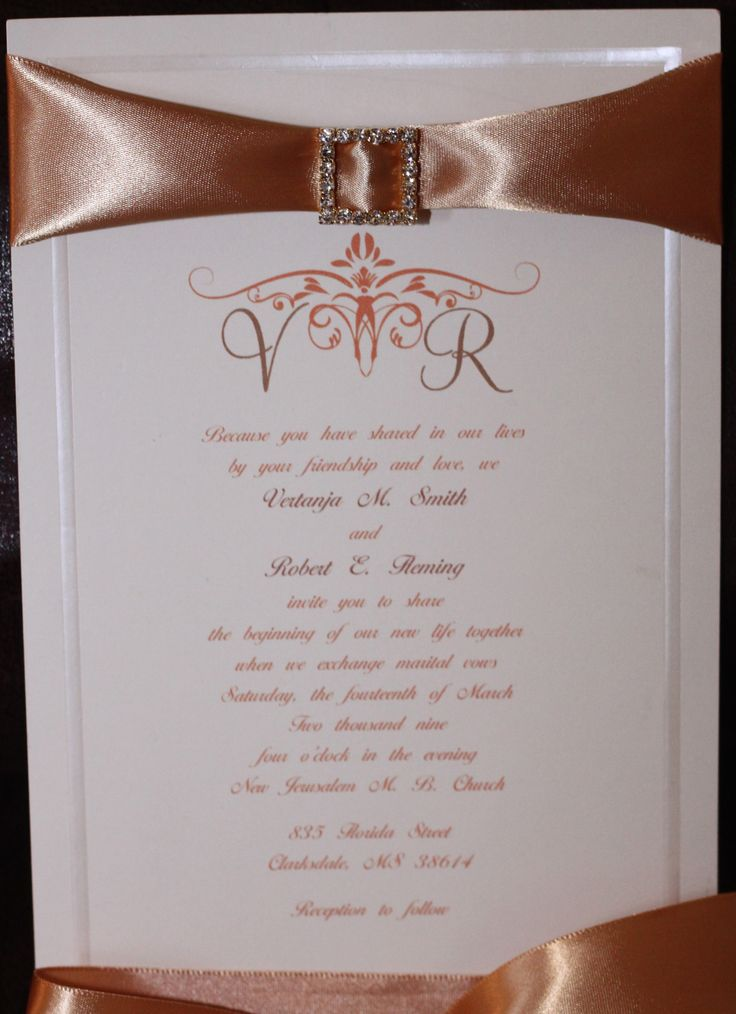 7 best Wedding Invitations and Programs images on Pinterest ...