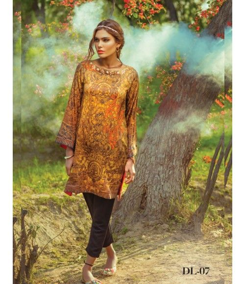 Digital Lawn- Summer Fantacy Kurti Collection By Alkaram DL_07