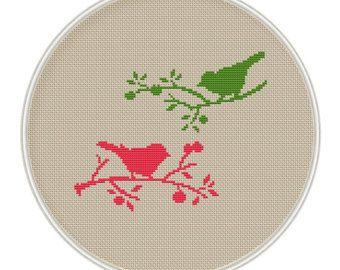 Bird Tree Cross stitch pattern cross stitch by MagicCrossStitch