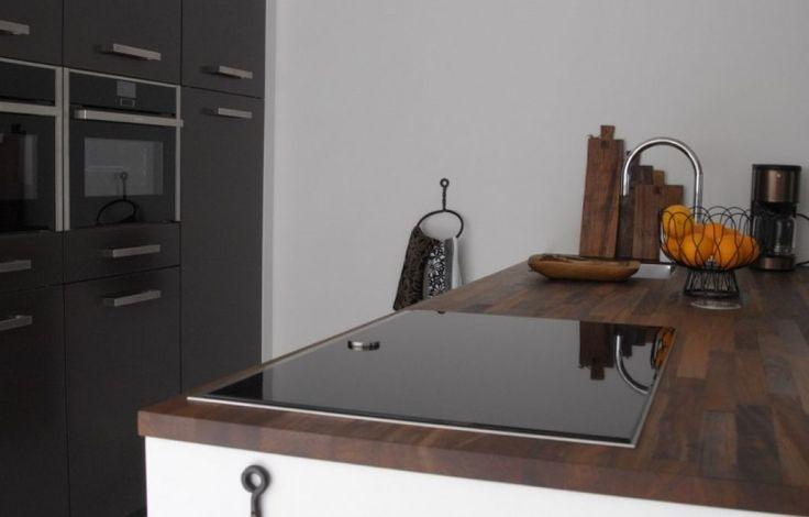 Neff twist pad in moderne keuken.