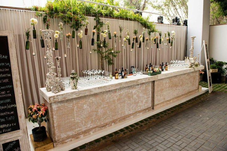 Open bar, Matrimonio Vintage