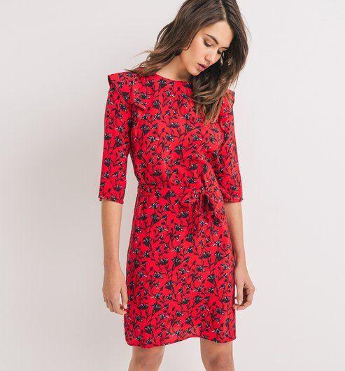 PROMOD : Robe+imprimée+Femme Référence PROMOD ® : 1-5-20-01-53-500