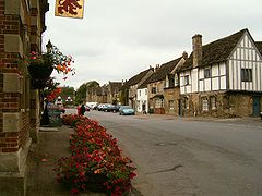 Lacock, Wiltshire, UK. Beautiful village, backdrop in BBC Pride & Prejudice, Cranford and Harry Potter.