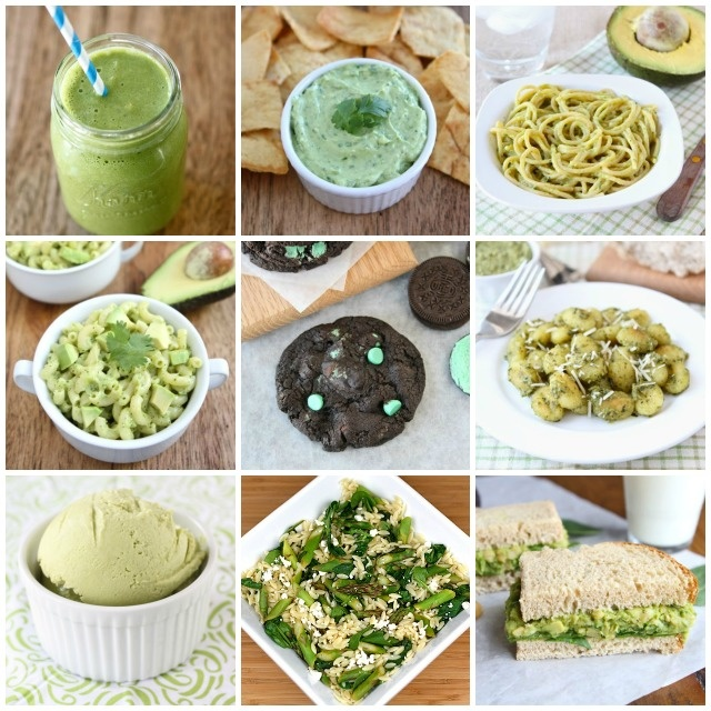 Favorite Green Recipes for St. Patrick's Day on www.twopeasandtheirpod.com
