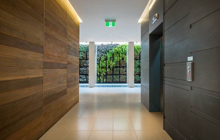 Vertical Green Wall - Indoor Garden Design by Landworks Landscaping