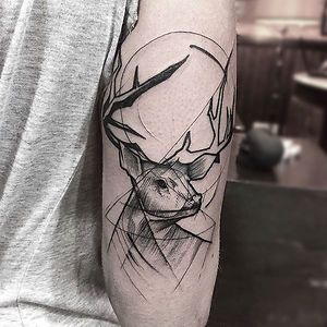 Sketch Style Tattoo