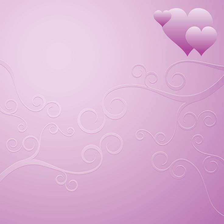 Romantic card. Purple heart