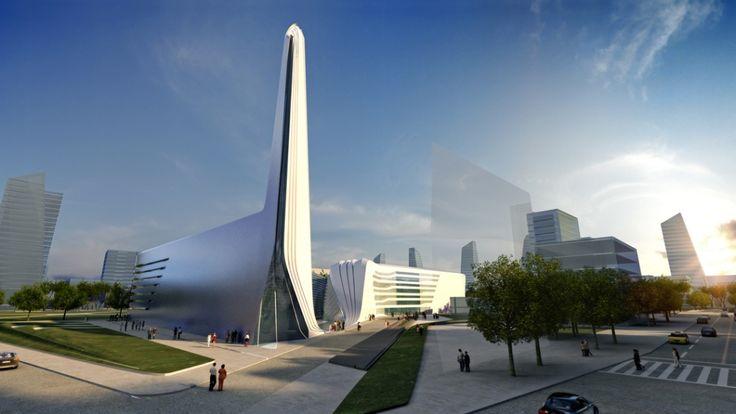 Mosque and Museum Of Religious Harmony by Zaha Hadid [Zaha Hadid: http://futuristicnews.com/tag/zaha-hadid/]