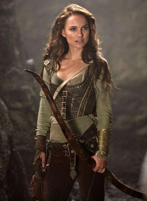 Your Highness; Natalie Portman as Isabel; Costume Design by Hazel Webb-Crozier